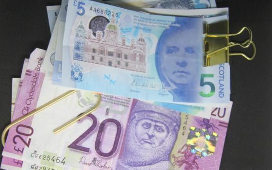Image of Scottish bank notes